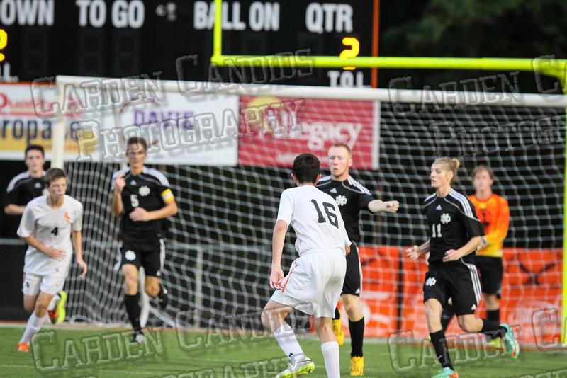 Men's Varsity Soccer vs N Davidson 9-11-14-043