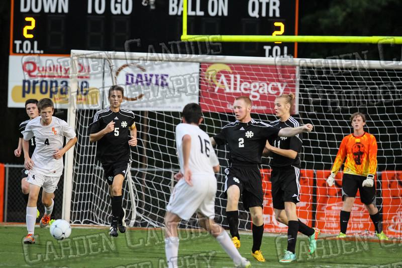 Men's Varsity Soccer vs N Davidson 9-11-14-045