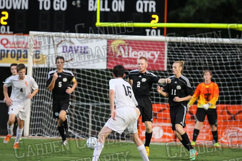 Men's Varsity Soccer vs N Davidson 9-11-14-044