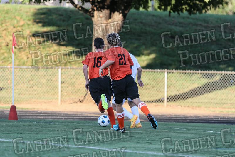 Men's Varsity Soccer vs E Forsyth 8-27-14-031