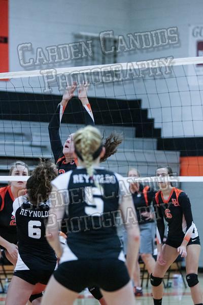 DHS Varsity Volleyball vs RJ Reynolds-095