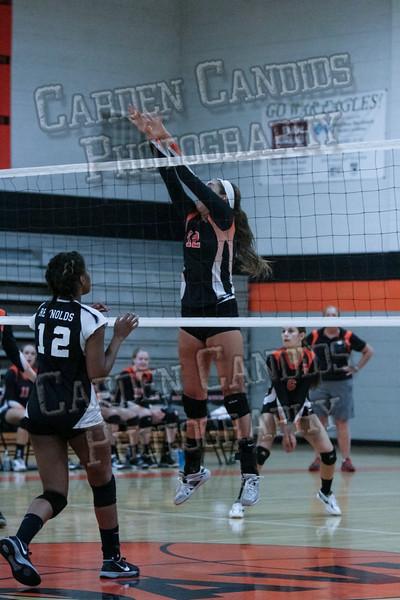 DHS Varsity Volleyball vs RJ Reynolds-082