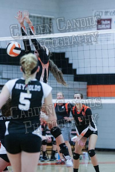 DHS Varsity Volleyball vs RJ Reynolds-093