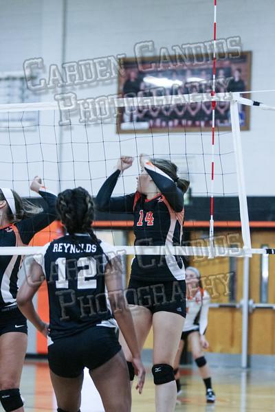 DHS Varsity Volleyball vs RJ Reynolds-099