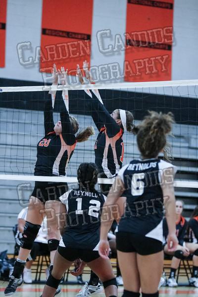 DHS Varsity Volleyball vs RJ Reynolds-085