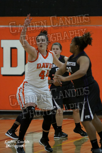 DHS VARSITY Ladies vs PORTER RIDGE 2-25-15-PLAYOFFS-15