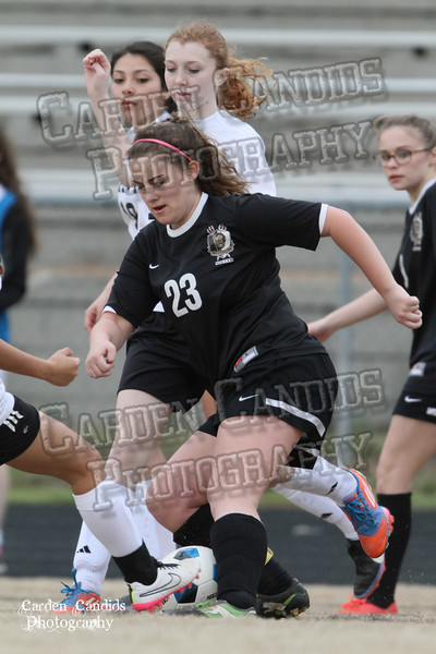 DHS JV Ladies Soccer vs Reynolds 3-18-15-40