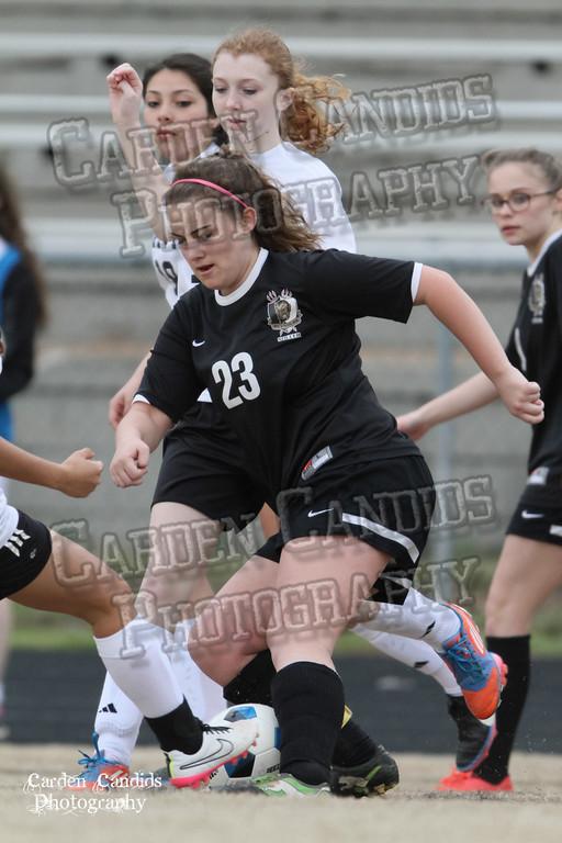 DHS JV Ladies Soccer vs Reynolds 3-18-15-40