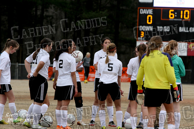 DHS JV Ladies Soccer vs Reynolds 3-18-15-6