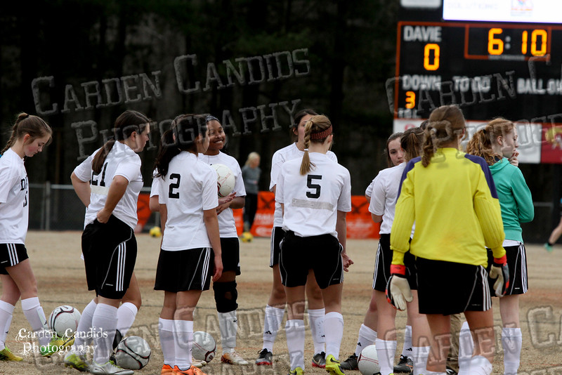 DHS JV Ladies Soccer vs Reynolds 3-18-15-5