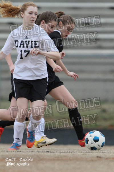 DHS JV Ladies Soccer vs Reynolds 3-18-15-30