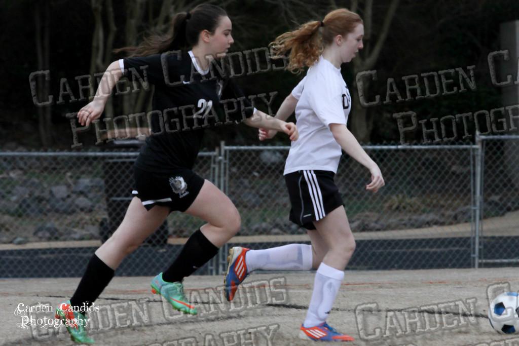 DHS JV Ladies Soccer vs Reynolds 3-18-15-25