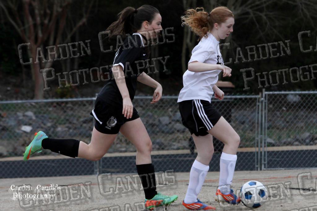DHS JV Ladies Soccer vs Reynolds 3-18-15-24