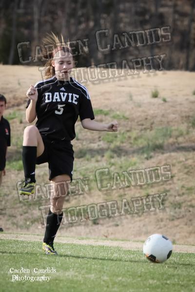 DHS JV Ladies vs N Davidson - 3-16-15-32