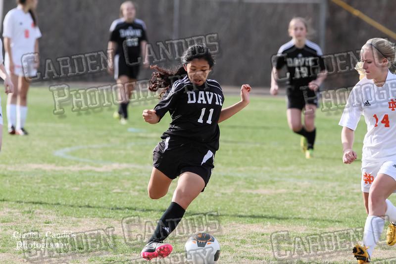 DHS JV Ladies vs N Davidson - 3-16-15-5