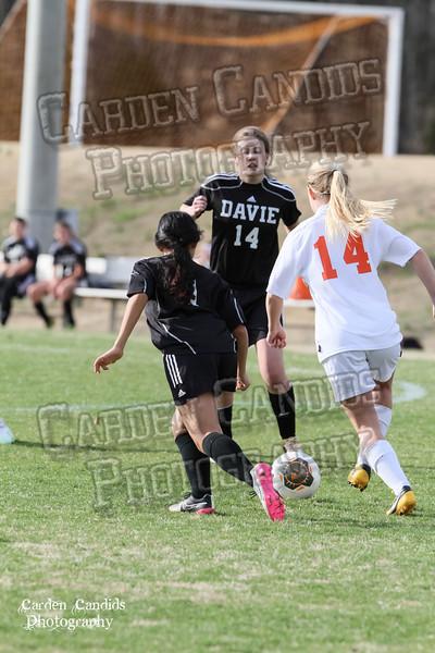 DHS JV Ladies vs N Davidson - 3-16-15-9