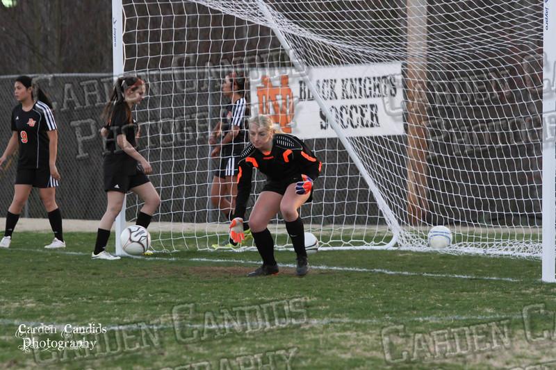DHS VARSITY Ladies Soccer vs N Davidson - 3-16-15--2