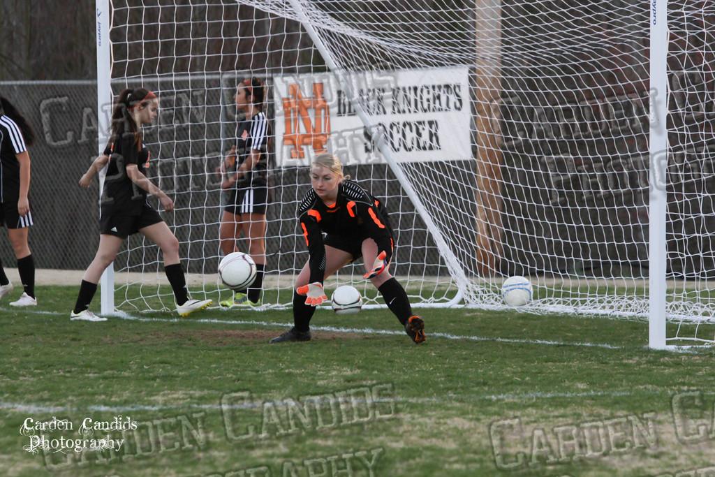 DHS VARSITY Ladies Soccer vs N Davidson - 3-16-15--3