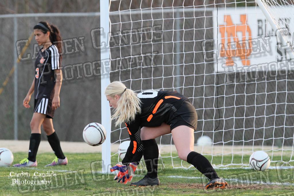 DHS VARSITY Ladies Soccer vs N Davidson - 3-16-15--17