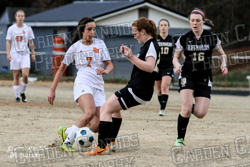 DHS VARSITY Ladies Soccer vs Reynolds 3-18-15-27