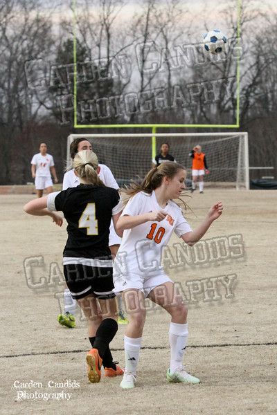 DHS VARSITY Ladies Soccer vs Reynolds 3-18-15-4