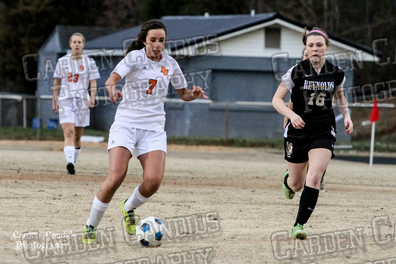 DHS VARSITY Ladies Soccer vs Reynolds 3-18-15-24