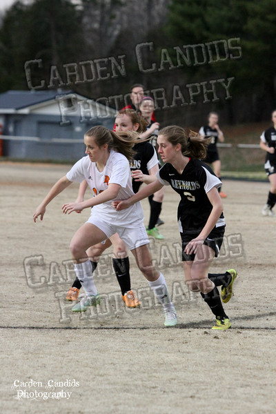 DHS VARSITY Ladies Soccer vs Reynolds 3-18-15-2