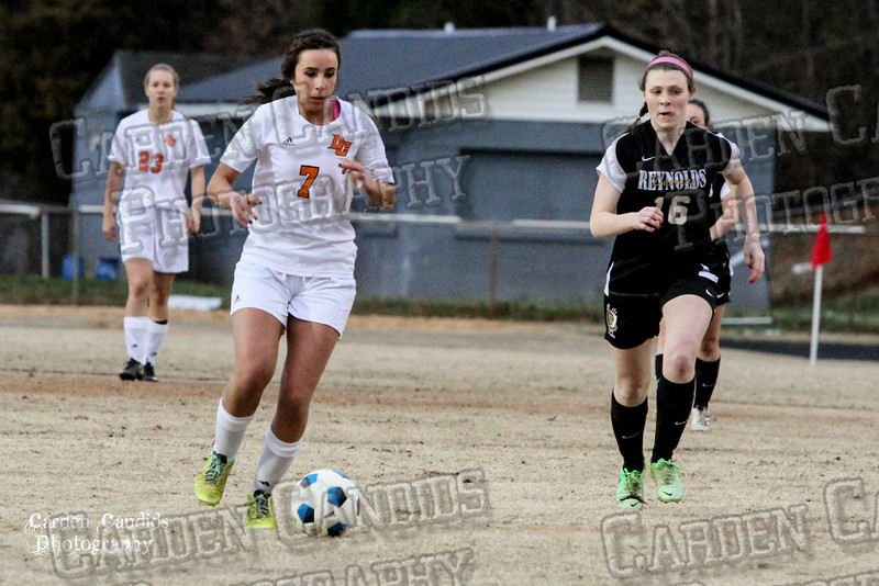 DHS VARSITY Ladies Soccer vs Reynolds 3-18-15-23