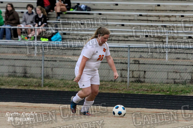 DHS VARSITY Ladies Soccer vs Reynolds 3-18-15-7