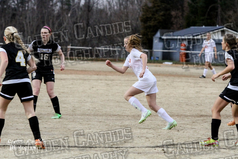 DHS VARSITY Ladies Soccer vs Reynolds 3-18-15-17