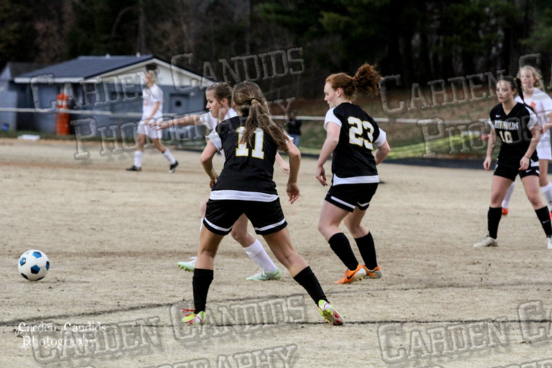 DHS VARSITY Ladies Soccer vs Reynolds 3-18-15-15