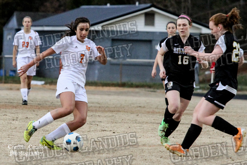 DHS VARSITY Ladies Soccer vs Reynolds 3-18-15-25