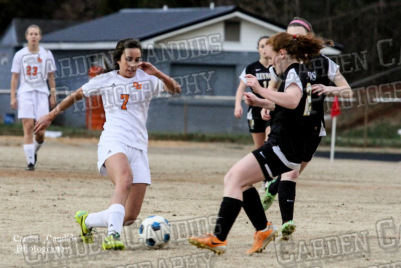 DHS VARSITY Ladies Soccer vs Reynolds 3-18-15-26