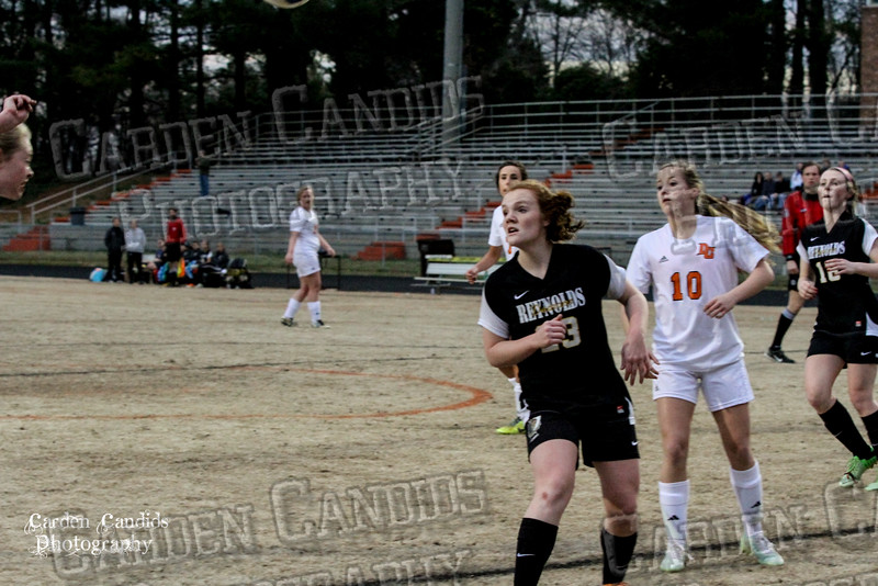 DHS VARSITY Ladies Soccer vs Reynolds 3-18-15-31