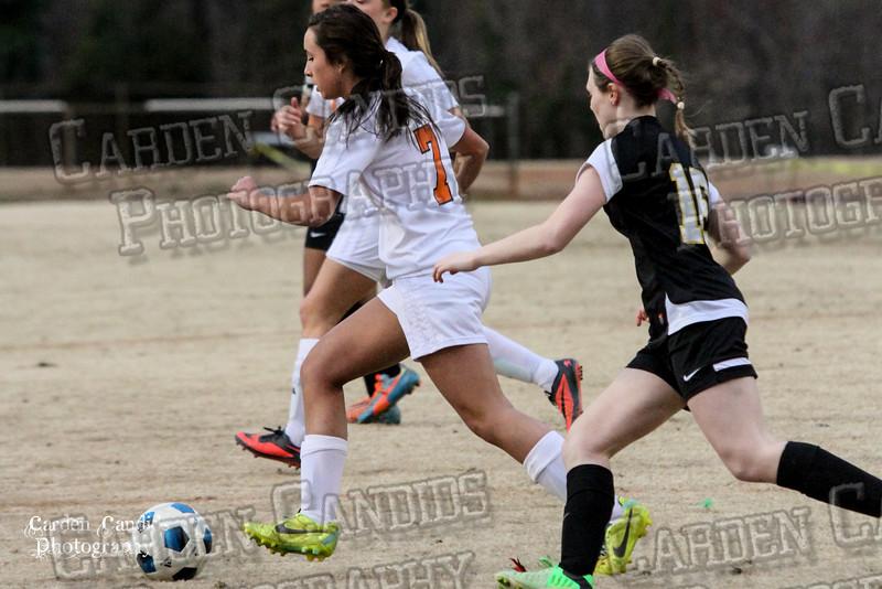 DHS VARSITY Ladies Soccer vs Reynolds 3-18-15-6