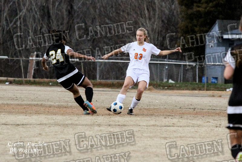 DHS VARSITY Ladies Soccer vs Reynolds 3-18-15-18