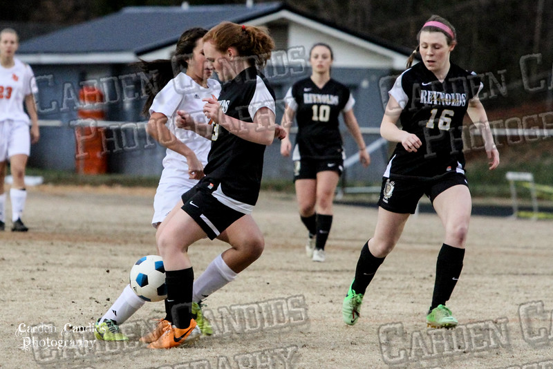 DHS VARSITY Ladies Soccer vs Reynolds 3-18-15-28