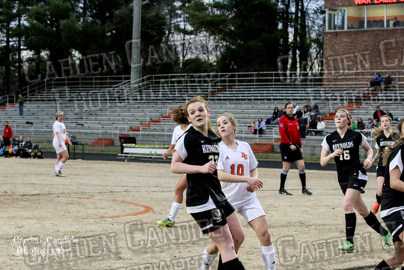 DHS VARSITY Ladies Soccer vs Reynolds 3-18-15-29