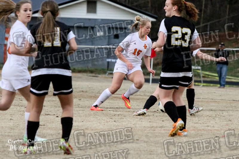 DHS VARSITY Ladies Soccer vs Reynolds 3-18-15-21