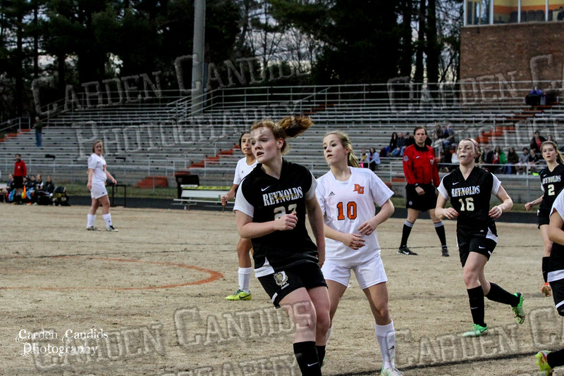 DHS VARSITY Ladies Soccer vs Reynolds 3-18-15-30