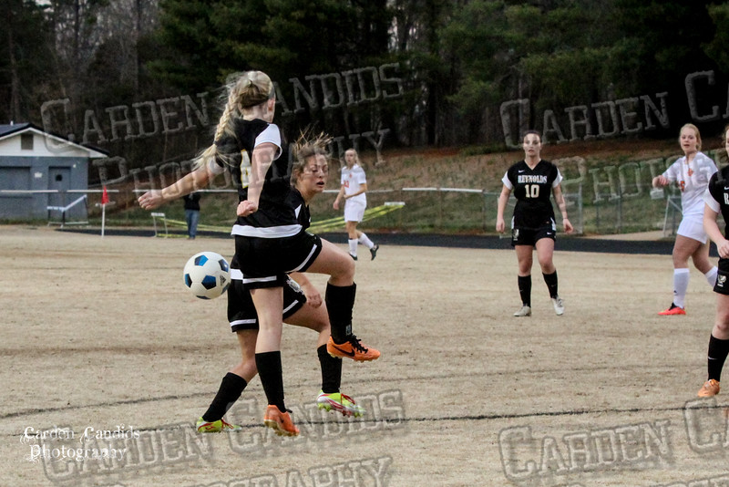 DHS VARSITY Ladies Soccer vs Reynolds 3-18-15-12