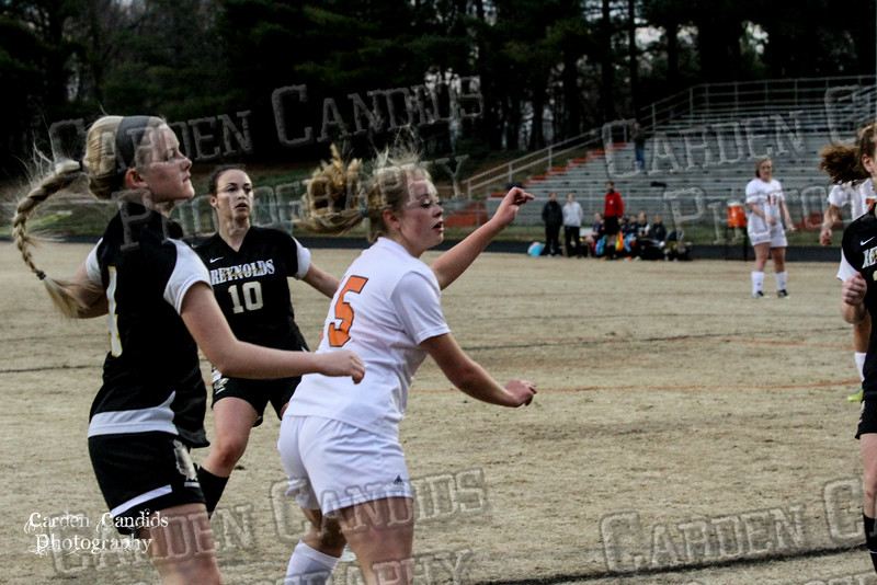 DHS VARSITY Ladies Soccer vs Reynolds 3-18-15-33