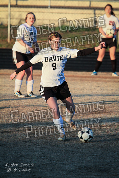 DHS Ladies Varsity vs Forbush 3-19-32