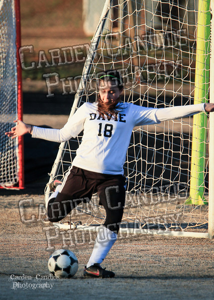 DHS Ladies Varsity vs Forbush 3-19-16