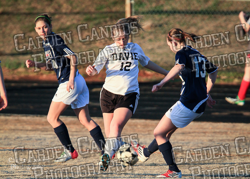 DHS Ladies Varsity vs Forbush 3-19-14