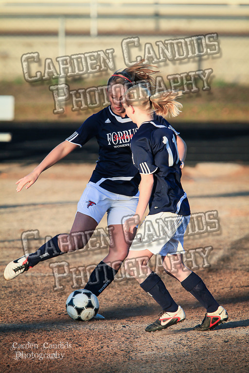 DHS Ladies Varsity vs Forbush 3-19-12