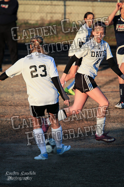 DHS Ladies Varsity vs Forbush 3-19-30