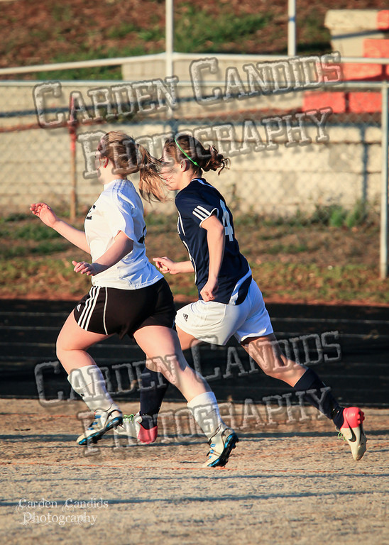 DHS Ladies Varsity vs Forbush 3-19-13