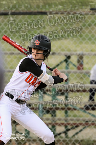 DAVIE VARSITY Ladies Softball vs W Rowan 3-30-15-051