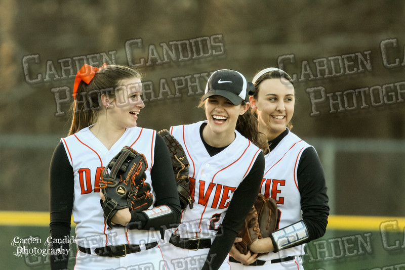 DAVIE VARSITY Ladies Softball vs W Rowan 3-30-15-016